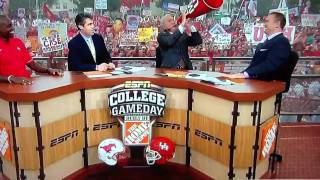 Lee Corso expletive on GameDay