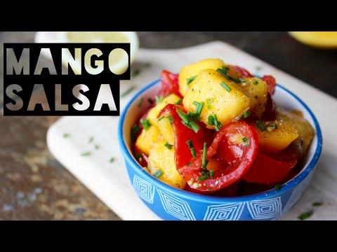 Healthy Salsa Recipe   How To Make Healthy Mango Salsa