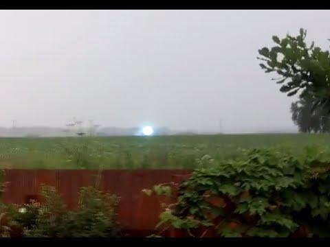 Unique Video: Super-rare Ball Lightning Moving Across Siberian Field