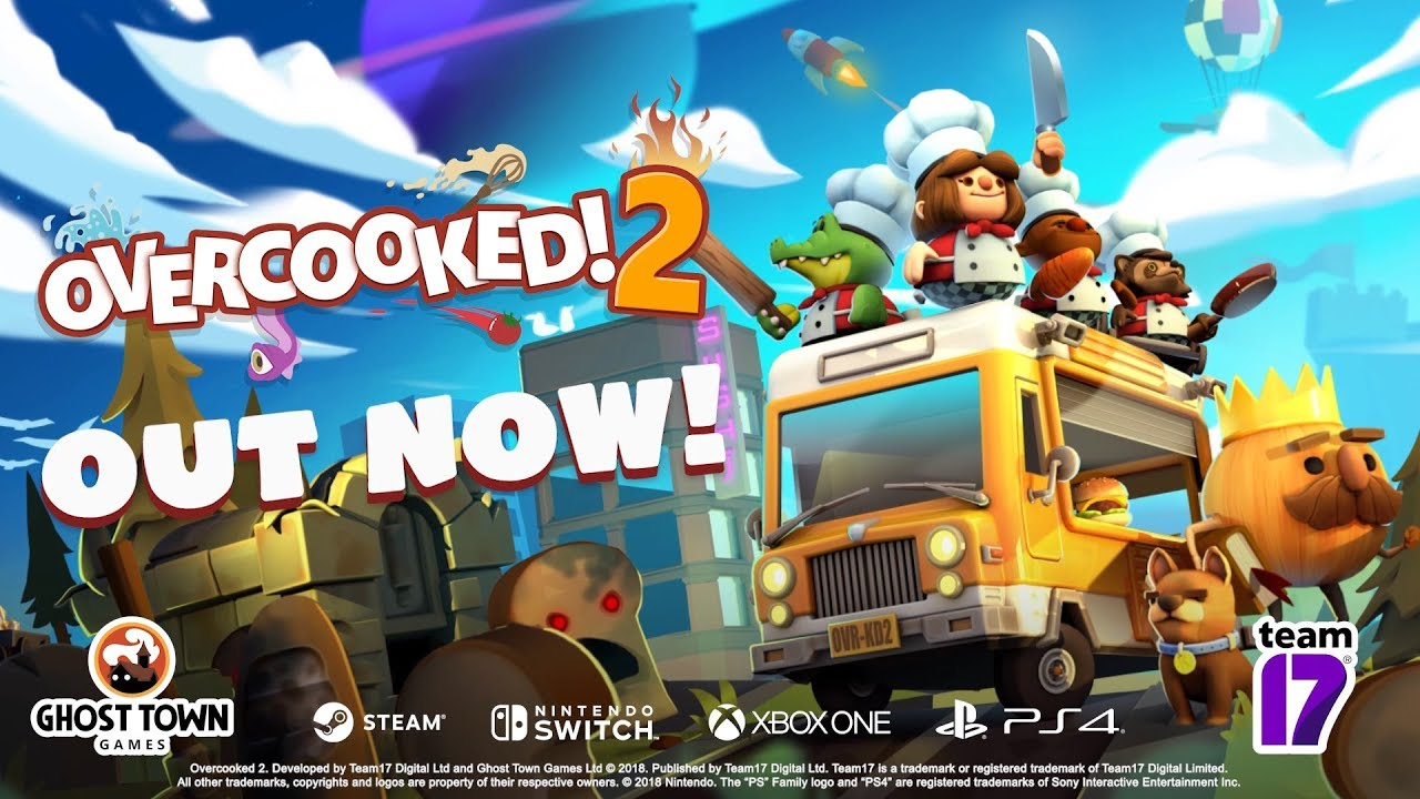 Overcooked! 2 - FAQ - Team17 Group PLC