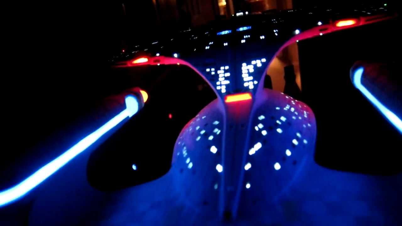 Star Trek USS Enterprise NCC 1701-D LED lighting kit for AMT model kit