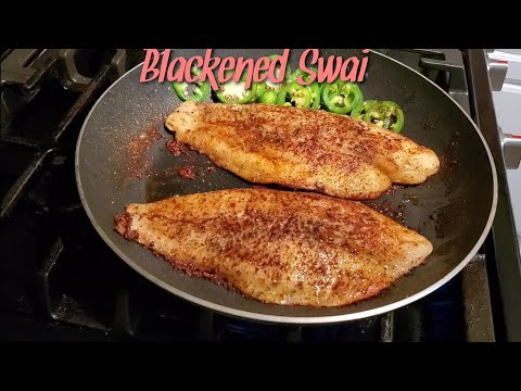 Blackened Pan Seared Swai Fish | Cooking With Thatown2