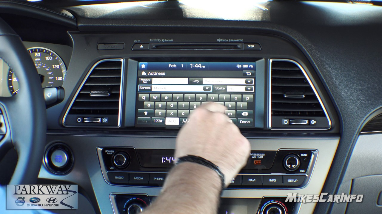 How To Use Navigation In New Hyundai