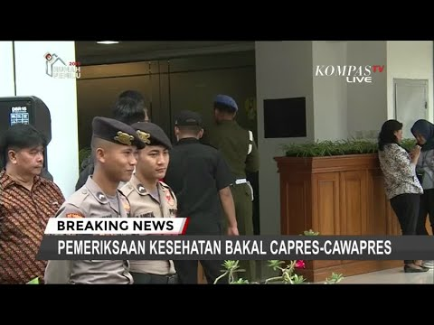 Sekjen Parpol Dampingi Jokowi-Ma'ruf Amin Tes Kesehatan