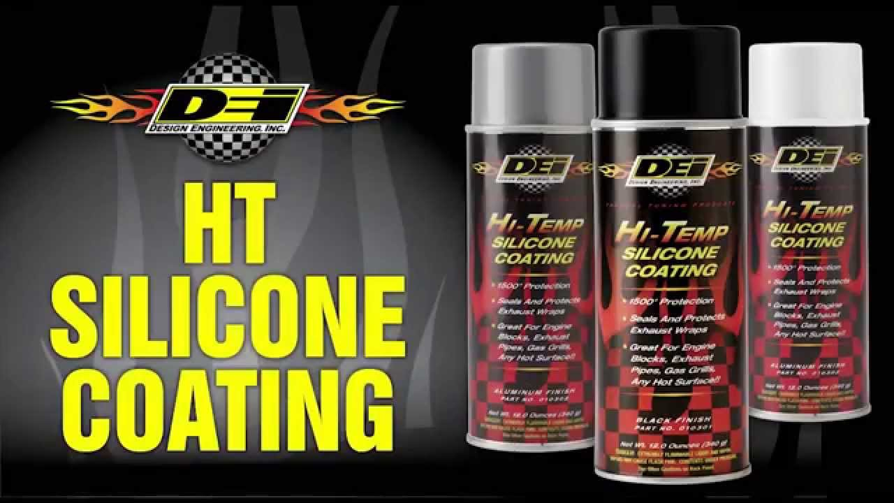 HT Silicone Coating for powersports applications