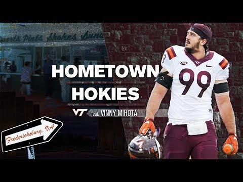 Hometown Hokies:  Vinny Mihota