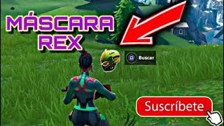 REX ACCURATE LOCATION MASK!!! SKIN SINGULARITY SEASON 9 FORTNITE: BATTLE ROYALE