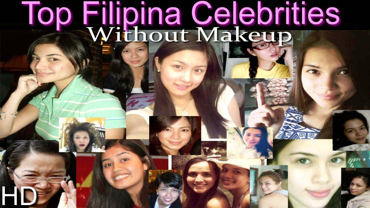 top pinay celebrities without makeup hd