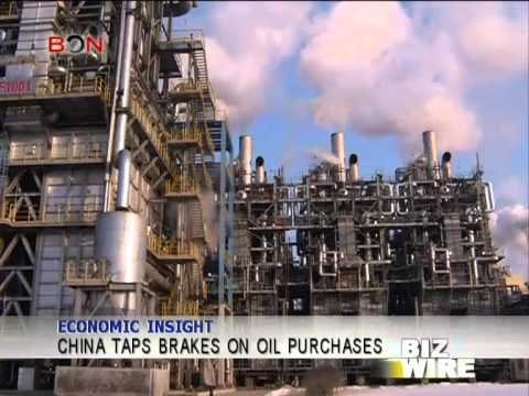 China taps brakes on oil purchases - Biz Wire - February 5,2014 - BONTV China