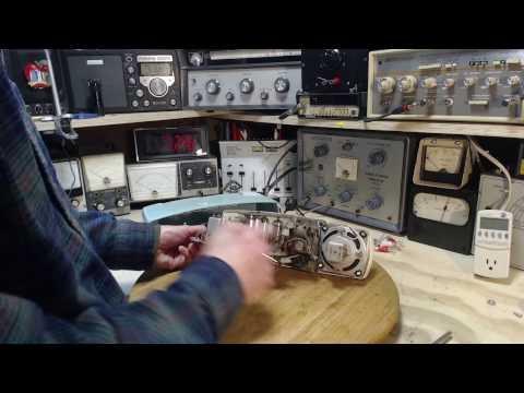 Vacuum Tube Clock Radio Video #1 - Checkout