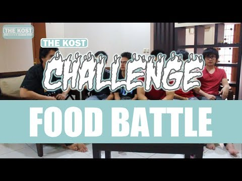 The Kost Challenge 1: FOOD BATTLE