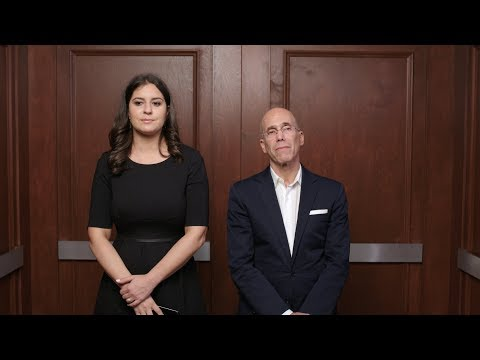 In the Elevator With Jeffrey Katzenberg
