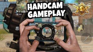 4 FINGER CLAW + GYROSCOPE | HANDCAM GAMEPLAY | PUBG Mobile | Mr Spike