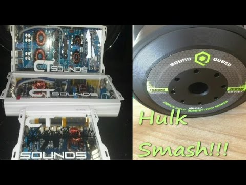CT Sounds 4000 & Skar 4500 Only One Will Power my SUBS!!