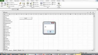 Search through Cells Containing String using VBA Excel Programming