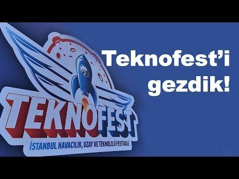 Teknofest'i Gezdik   Hem Teknoloji Hem Havacılık Fuarı