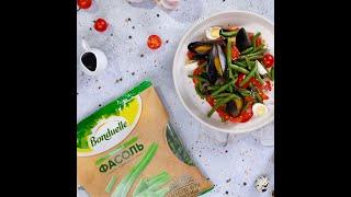 Теплый салат «Азия» - рецепты салатов от Bonduelle
