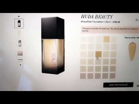 Huda Beauty Foundation Shade Matching Guide + Faux Filter Foundation Launch [WATCH TILL THE END]