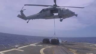 Navy Prime: Delivered by Helicopter