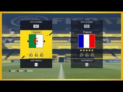 COMMENT CREER L'EQUIPE D'ALGERIE SUR FIFA 19