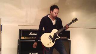 Testing out my new Gibson Les Paul Jr. & Zoom Q3HD