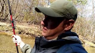 Рыбалка на реке Кривая октябрь 2019 г.
