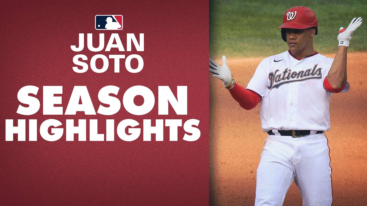 Juan Soto WENT OFF this season! (.351 average, 1.185 OPS!) | 2020 Highlights