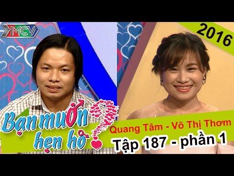 Chuyện hẹn hò của anh chàng tóc dài và cô nàng xinh như hotgirl | Quang Tâm - Thị Thơm | BMHH 187