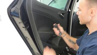 How to remove the door panel Seat Ibiza