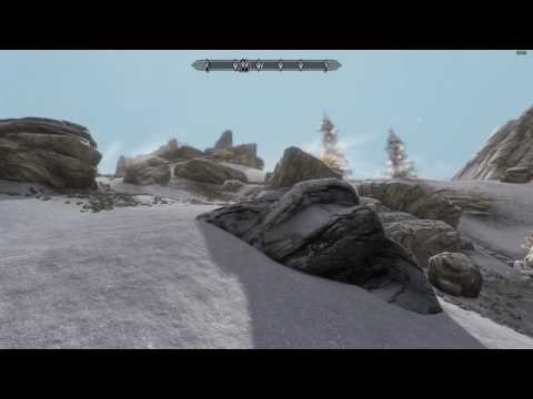 Skyrim Special Edition - E ENB Depth of Field & Lighting Test