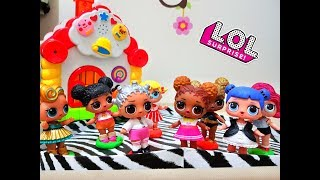 Куклы ЛОЛ Сборник Мультиков Живые куклы LOL  Новые серии мультфильм кукла ЛОЛ LOL