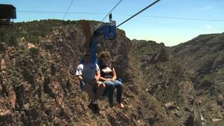 Royal Gorge Bridge and Park Soaring Eagle Zip Line Grand Opening