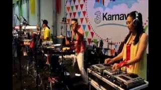 "Dos Percussion feat. Fdj Candy Song By Prodigy- Voodoo People ""3 carnaval"" At Jogja Expo Center.wmv"