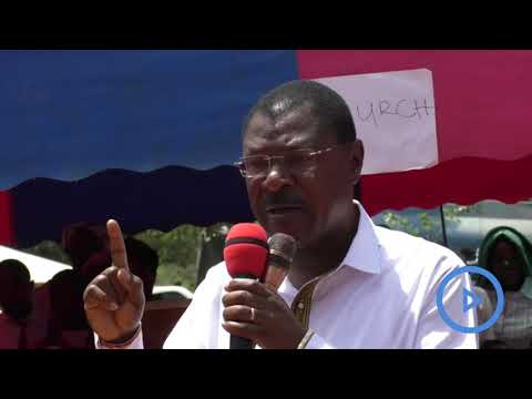 """I will only support structured dialogue."" - senator Moses Wetangula"