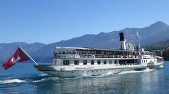 Dampfschiff Blüemlisalp (Thunersee/Schweiz)