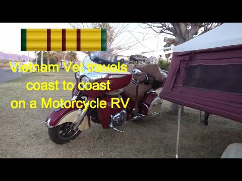How to Motorcycle camp and travel coast to coast