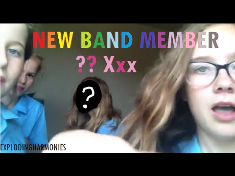 NEW BAND MEMBER?? xxx
