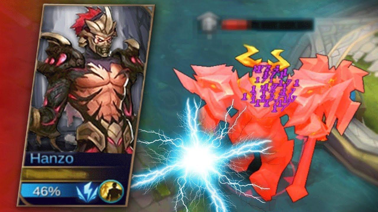new hero ninja hanzo new skills! mobile legends leaked gameplay