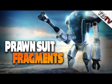 How to get the PRAWN Suit Fragments - Subnautica Walkthrough E6 - Enter The Aurora!