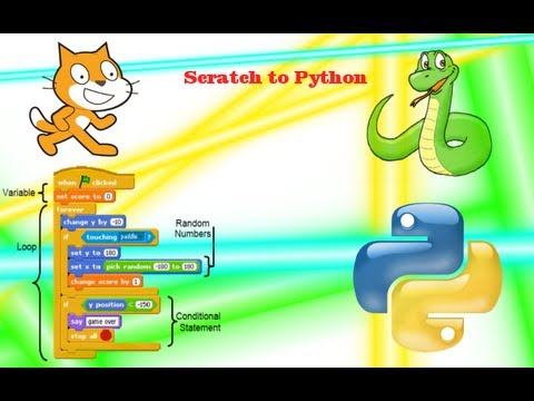 Scratch to Monty Python: from block to text simple walk-through