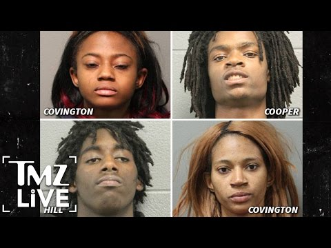 Facebook Live Torture: 4 Suspects Charged With Hate Crime I TMZ Live