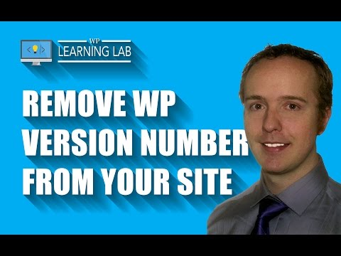 How To Remove The WordPress Version Number From Your Site - Hacker Proofing - WP Learning Lab - 동영상
