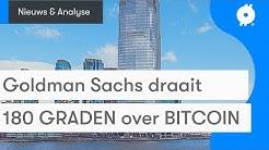 Bitcoin nieuws vandaag: Huh? Goldman Sachs houdt conference call over Bitcoin? | Koers & analyse