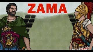 The battle of Zama Hannibal and Scipio's final showdown (Rome vs Carthage History)
