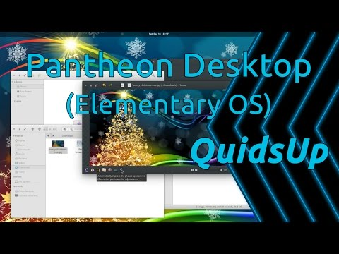 Desktop December - Pantheon Desktop from Elementary OS
