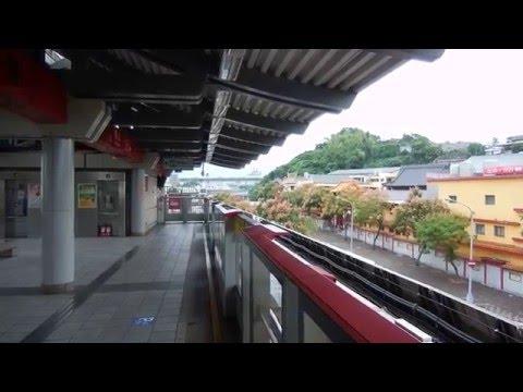 MRT #4 台湾 地下鉄[ 外観 ] Taipei Rapid Transit System VVVFインバータ 川崎重工業+シーメンス