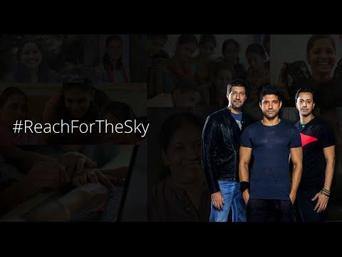 Farhan Akhtar LIVE from Mumbai - #ReachForTheSky