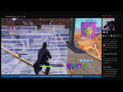 fortnite live chat
