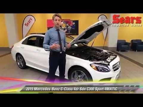 New 2015 mercedes benz c class c300 sport 4matic for Mercedes benz minneapolis