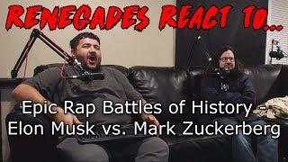 Renegades React to... Epic Rap Battles of History - Elon Musk vs. Mark Zuckerberg